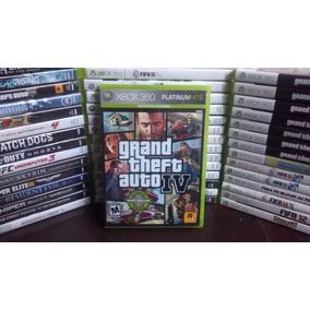 Gta 4 Iv Xbox 360 - Original - Mídia Física Frete R$ 12