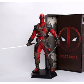 Boneco Deadpool Crazy Toys - Figure Action - Grande 30cm