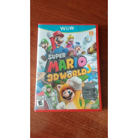 Super Mario 3d World Original, Para Nintendo Wii U