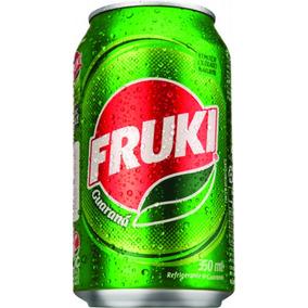 Refrigerante Fruki Lata 350ml Guaraná 1x12 Unidades