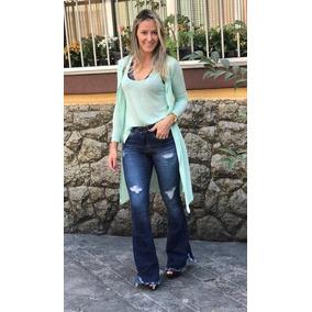 Calça Flare - Calças Feminino em Belo Horizonte no Mercado Livre Brasil 14522650154