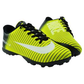 f2acd07130619 Chuteira Nike Cinza E Laranja - Chuteiras Amarelo no Mercado Livre ...