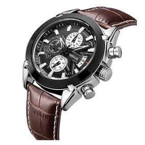 ae9a1c72f3e Relógio Baogela Social luxo Com Pulseira De Couro - Original