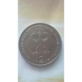 Moeda 2 Deutsche Mark D Soberba..1949