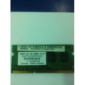 Memoria Ddr3 Laptop 1gb Y 2gb Usada