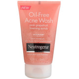 Neutrogena Oil-free Acne Wash Exfoliante Con Espuma Pomelo