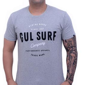 Camiseta Gul Branding Block Cinza b4b71bae7f4ab