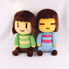 Undertale Pelucia Frisk & Chara Toy Plush Toy Doll Boneca