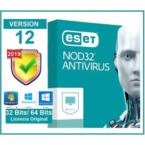Eset Nod32 Antivirus V12 2019 |10 Pc | 2 Años| Oferta