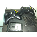 Xbox 360 Usado Chip Rgh 2 Controles Disco Duro