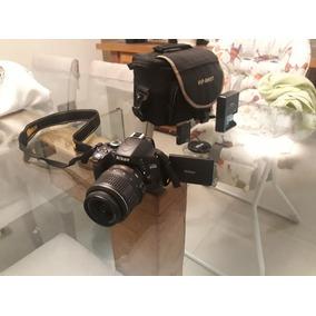 Nikon D5100 Usada - Otimo Estado - Com Acessórios.