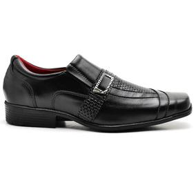 Sapato Social Masculino Tamanhos Especiais 45 46 47 48 Couro a8192cdb220f4