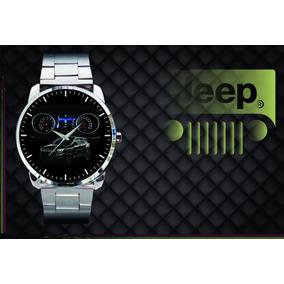 Relógio De Pulso Personalizado Jeep Compass Sport Longitude