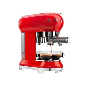 Maquina De Café Smeg Modelo Años 50 (ecf01rdus)