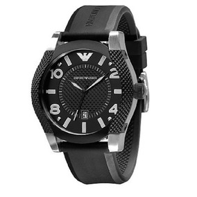 bd4f015b1ea Relógio Masculino Emporio Armani Borracha Original Nf Ar5838