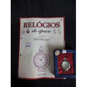 Coleção Relógios De Época - Número 3 - Old Chicago - Salvat