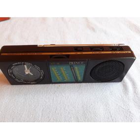 Radio E Relógio Antigo