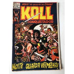 Koll O Conquistador Nº 4 Ed Roval Ano 1973