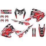 Kit Trilha Adesivo Bros 150 2009 / 2012 Motocross Kr - 8072