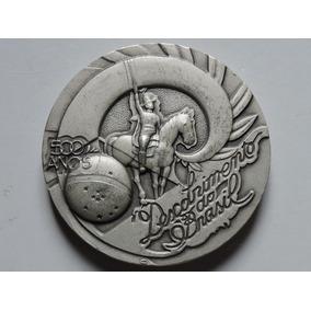 Brasil Medalha 500 Anos Descobrimento 166 G Prata 900 2000
