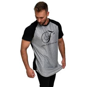 Camiseta Mescla Poliester - Camisetas Manga Curta no Mercado Livre ... 68cd032a835f8
