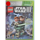 Lego Star Wars 3 The Clone Wars Xbox 360