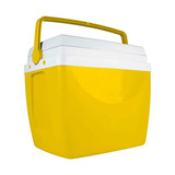 Caixa Térmica Amarela 34 L Mor