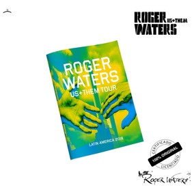 Programa Roger Waters Official Tourbook 2018