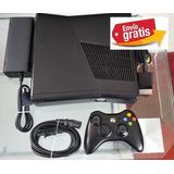 Xbox360 Slim 500gb Rgh 50 Juegos Incluye Control Y Envio!!