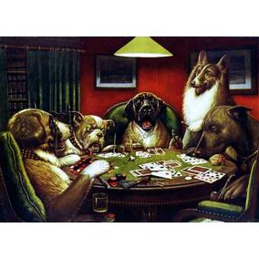 Pintura Perros Jugando Poker En Mercado Libre Mexico