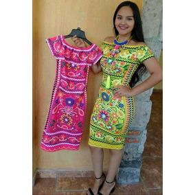 Vestido Sublimado Moderno Mexicano (envio Gratis)