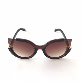 Óculos Marrom Com Laranja. Tendências De Verão! Sol - Óculos no ... 77aeecf894