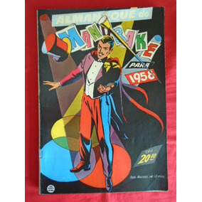 Almanaque Do Mandrake - 1958 - (ótimo) - Frete: Grátis