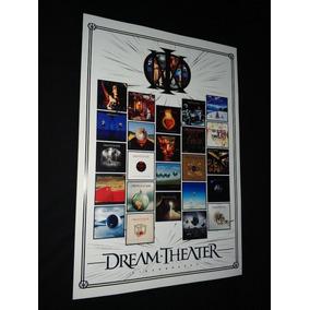 Poster Dream Theater Quadro Dream Theater Cartaz Dream Theat