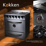 Cocina Industrial Kokken 76 - 4 Hornallas + Plancha