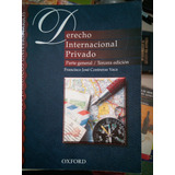 Derecho Internacional Privado, Contreras Vaca