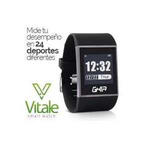 Ghia Smart Watch Vitale - 1.28 Touch - Waterproof - Bt -