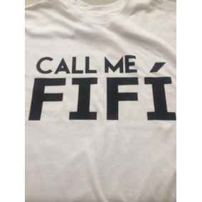 Camiseta Estampada Call Me Fifí