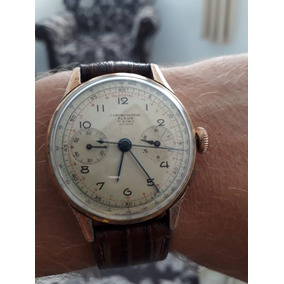 78a877e3caf Relógio Militar Fleur Gronographo Suíço Coleção Antigo