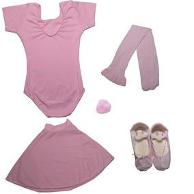 5cd2f42566 Roupa Para Ballet Rosa - Camisetas e Blusas no Mercado Livre Brasil