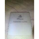 Memory Card Play Station One Sony
