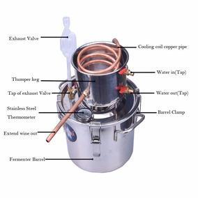 Destilador Capacidad 18 Litros Alcohol Aceites Esenciales