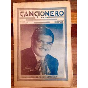 Antiguo Cancionero Jose Alfredo Jiménez Años 50