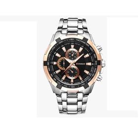 Relógio Curren Importado Fr Grátis Promoção + Super Brinde