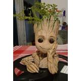 Maceta Baby Groot 16cm Sin Planta Regalo Navidad