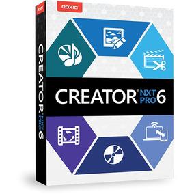 Roxio Creator Nxt 6 + Serial (pronta Entrega Lançamento)
