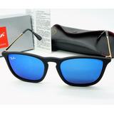 Oculos De Sol Feminino Quadrado Cris Chirs Azul Espelhado 7d0b124f8b