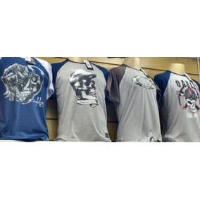 Kit 10 Camisa Camiseta Masculina Raglan Oakle Revenda e912b946333