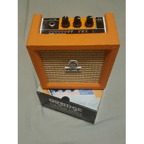 Orange Crush Mini 3w - Amplificador Portátil De Guitarra