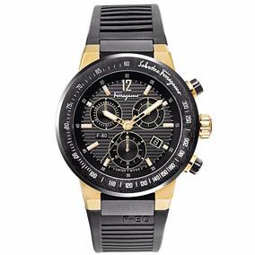 Reloj Salvatore Ferragamo F-80 Sff55gc04 Time Square